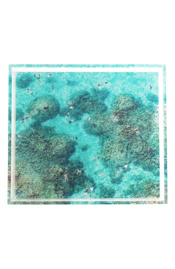 Gray Malin The Reef Tray, Size One Size - Blue