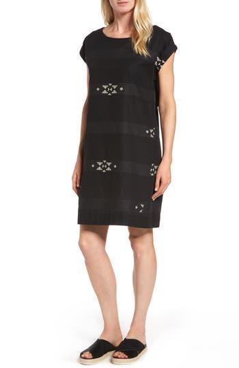 Eileen Fisher Cotton Jacquard Shirt Dress