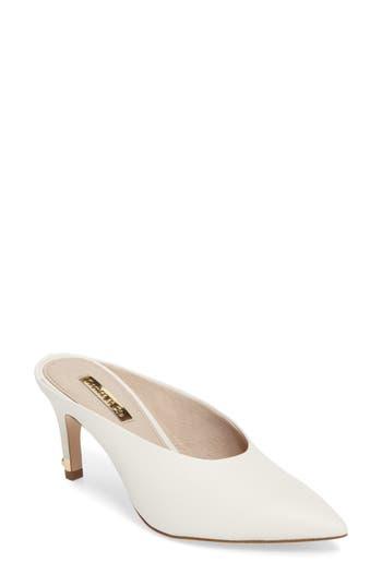 Louise Et Cie Karas Pointy Toe Slide Pump- White