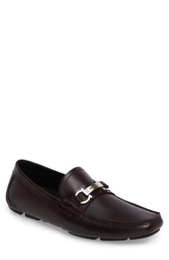 Men's Salvatore Ferragamo Danubio Bit Driving Shoe