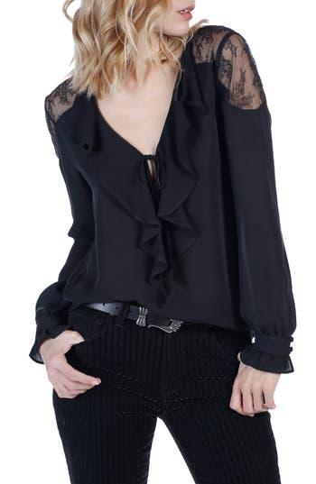 Women's Paige Celesse Lace Silk Blouse