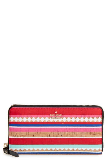 Women's Kate Spade New York Campus Lane - Lacey Wallet - Red