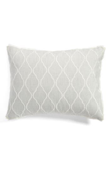 Vera Wang Fretwork Breakfast Pillow, Size One Size - Beige