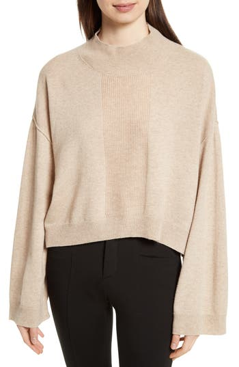 Atm Anthony Thomas Melillo Wool & Cashmere Sweater, Beige