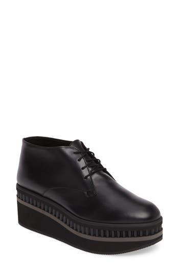 Robert Clergerie Limmy Flatform Loafer - Black