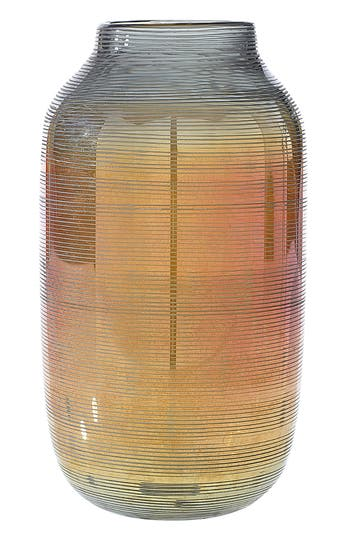 Accent Decor Onyx Glass Vase, Size One Size - Metallic