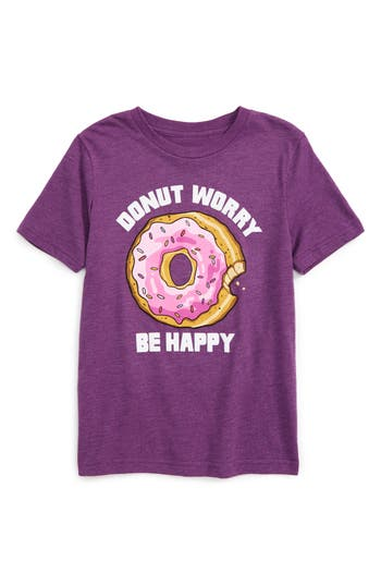 Boy's Jem Donut Worry Graphic T-Shirt