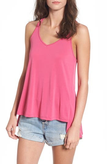 Women's Bp. Split Back Tank, Size XX-Small - Pink