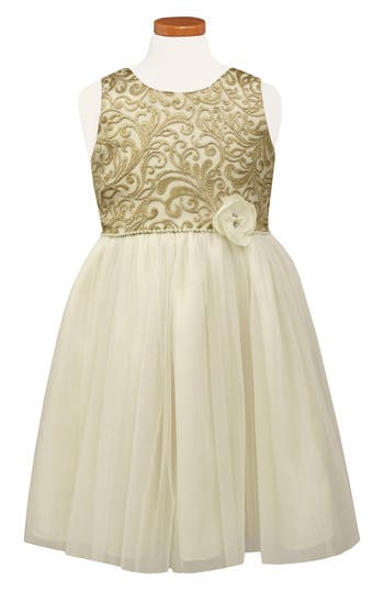 Girl's Sorbet Brocade Ballerina Dress