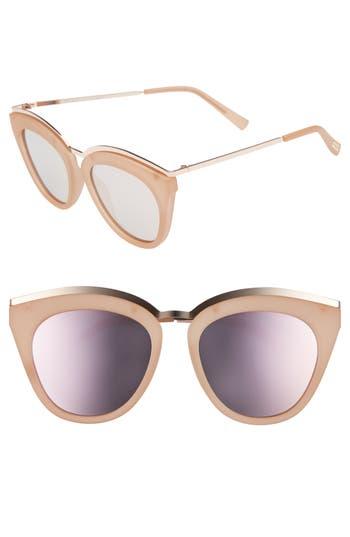 Le Specs Eye Slay 52Mm Cat Eye Sunglasses - Matte Shell