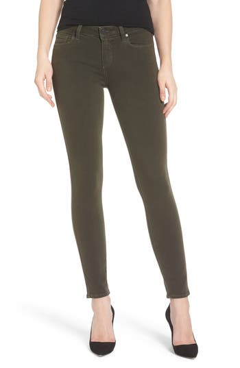 Paige Transcend - Verdugo Ankle Skinny Jeans, 7 - Green