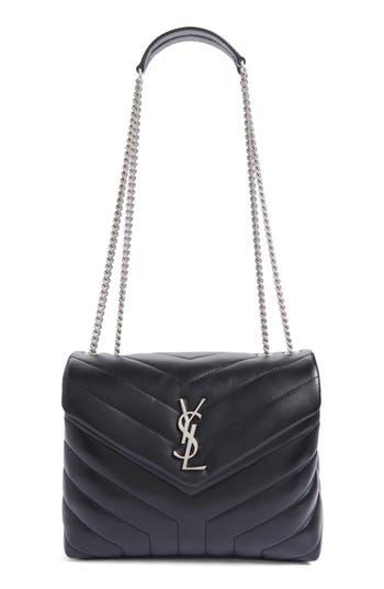 Saint Laurent Small Loulou Matelassé Leather Shoulder Bag -