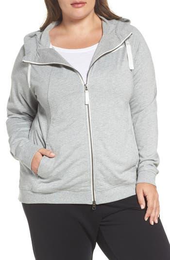 Plus Size Nike Sportswear Gym Classic Hoodie, Grey