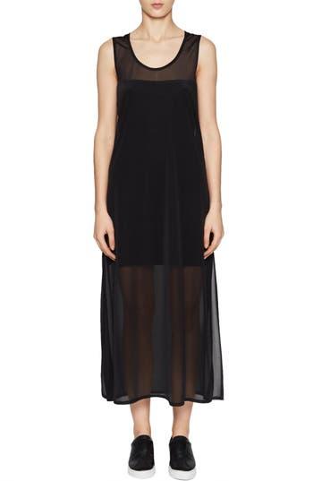 French Connection Celia Jersey Midi Dress, Black