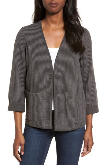 Women's Eileen Fisher Reversible Organic Cotton Jacket