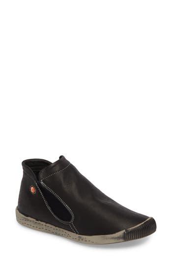 Softinos By Fly London Inge Slip-On Sneaker, Black