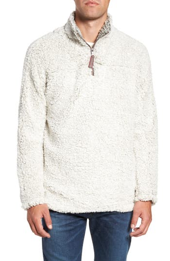 Men's True Grit Frosty Tipped Quarter Zip Pullover