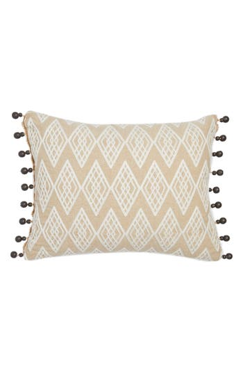 Levtex Zander Beaded Pillow, Size One Size - Beige