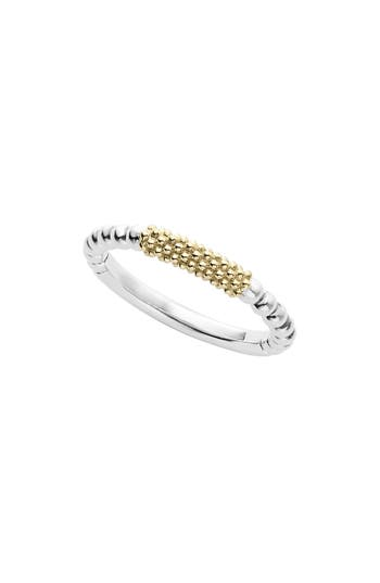 LAGOS 'Caviar Icon' Stacking Ring