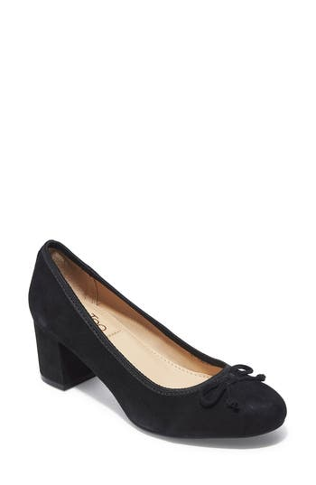 Me Too Lily Bow Pump- Black