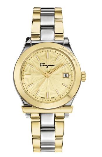 Women's Salvatore Ferragamo 1898 Bracelet Watch, 33Mm