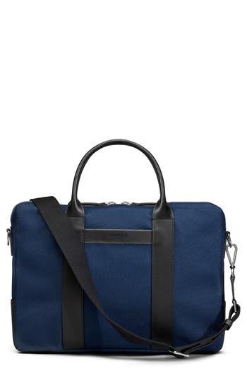Shinola Computer Briefcase - Blue