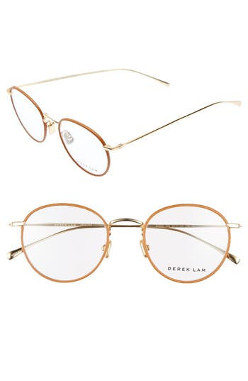 Derek Lam 50Mm Optical Glasses - Tan