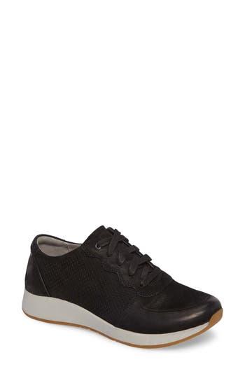Dansko Christina Sneaker-6- Black