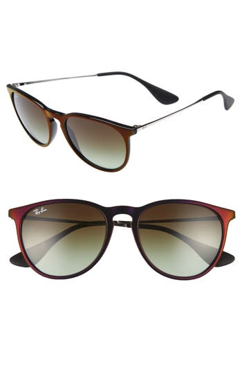 Ray-Ban Erika Classic 5m Sunglasses - Black/ Red