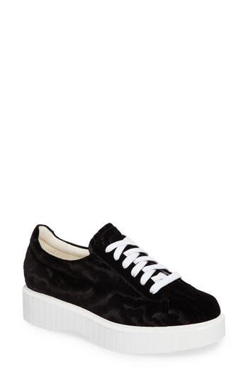 Robert Clergerie Paskettn Flatform Sneaker - Black