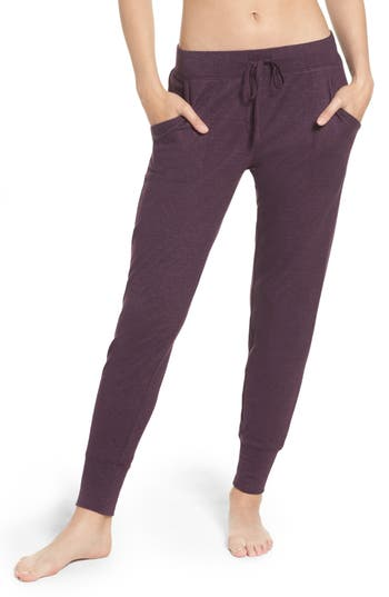 Natori Retreat Sweater Knit Pants, Purple