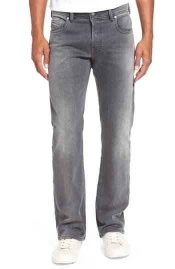 Diesel Zatiny Bootcut Jeans, Grey