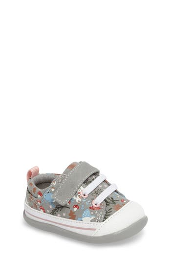 Infant Girls See Kai Run Stevie Ii Sneaker Size 4 M  Grey