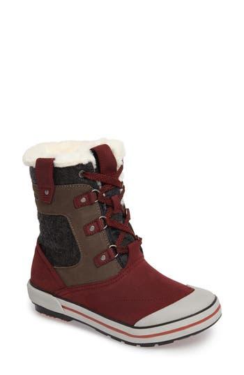 Keen Elsa Boot- Red