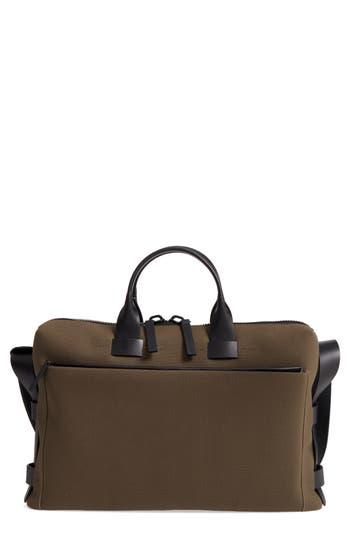 Troubadour Slim Briefcase - Beige