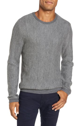 Rodd & Gunn Mount Grand Wool Sweater, Metallic