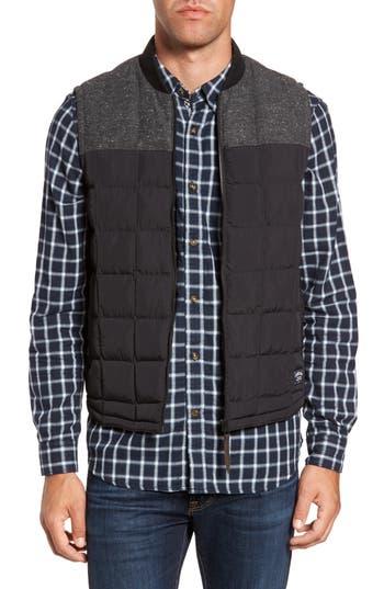 Men's Timberland Skye Peak Mixed Media Vest, Size Small - Black