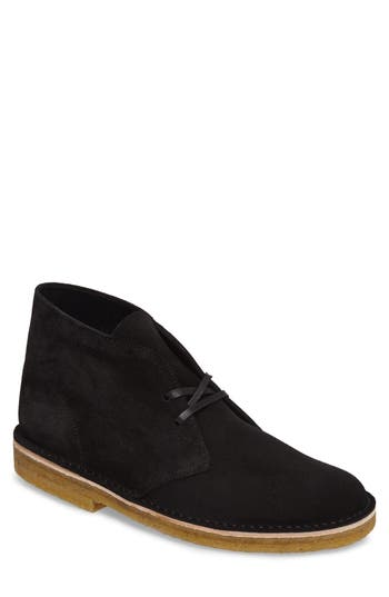 Clarks Desert Chukka Boot, Black