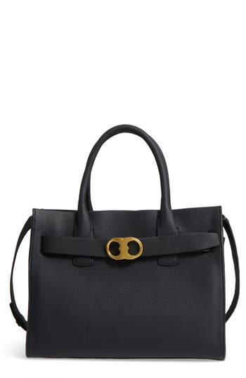 Tory Burch Gemini Link Leather Tote -