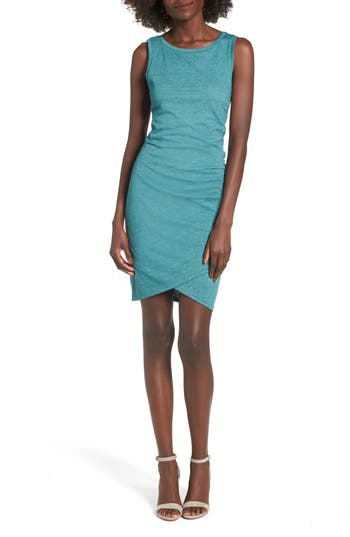 Women's Leith Ruched Body-Con Tank Dress, Size X-Small - Grey