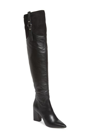 Linea Paolo Baily Over The Knee Boot, Black