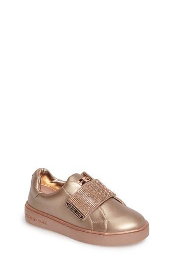 Toddler Girls Michael Michael Kors Ivy Candy Sneaker Size 7 M  Metallic