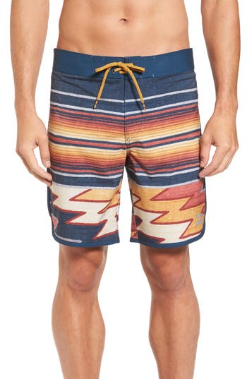 Billabong 73 X Lineup Board Shorts, Blue