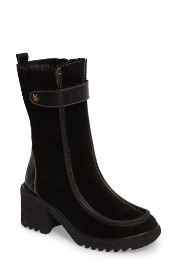 Fly London Woof Boot - Black