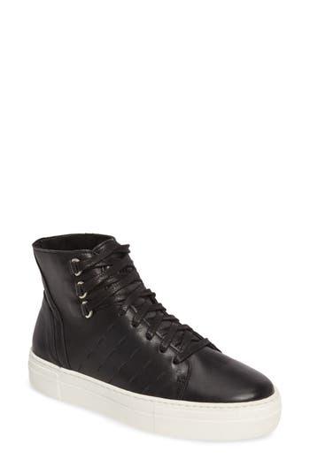 K-Swiss Modern High Top Sneaker- Black