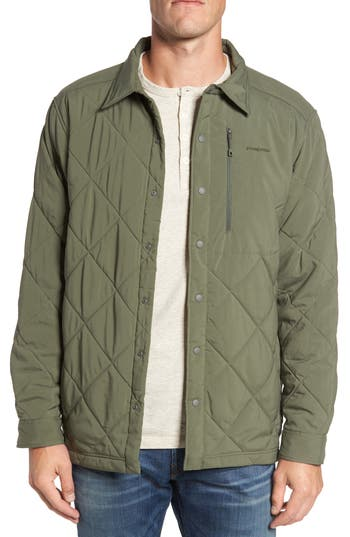 Patagonia Tough Puff Shirt Jacket, Green