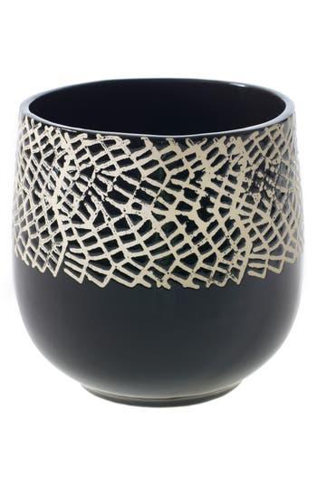 Accent Decor Optimist Pot, Size One Size - Black