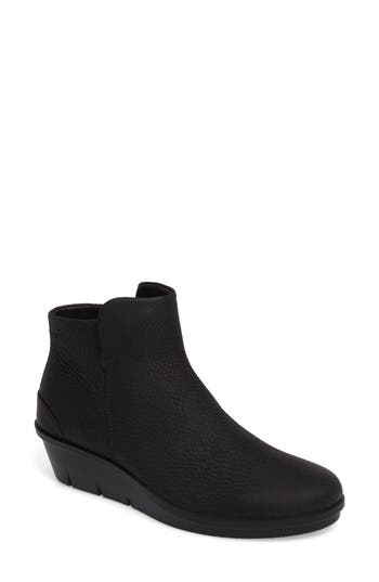 Ecco Skyler Wedge Boot, Black