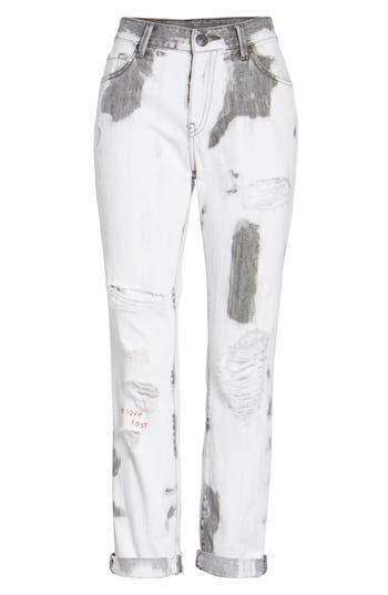 True Religion Brand Jeans Cameron Boyfriend Jeans, White