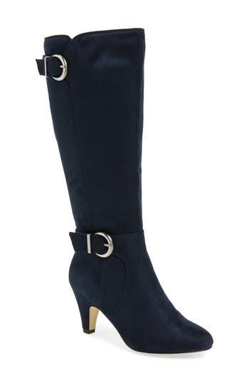 Bella Vita Toni Ii Knee High Boot, Wide Calf- Blue
